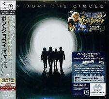 BON JOVI THE CIRCLE 2009 JAPAN DELUXE EDITION SHM CD & BONUS DVD DIGIPAK - OOP!