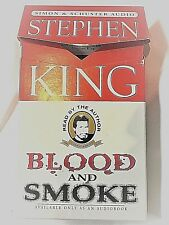First Edition Read by Stephen King Blood & Smoke AUDIO BOOK 3 Stories - Cassette