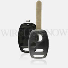 Car Fob Key Shell Case Pad Chip Slot 3B For 2005 2006 2007 2008 Honda Pilot