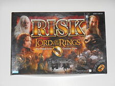 Parker Bros. 2002 RISK The Lord Of The Rings The Middle-Earth Conquest Game LOTR