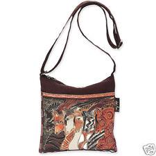 Laurel Burch Equestrian Horses Morrocan Mares Crossbody Handbag Brown Horse NWT