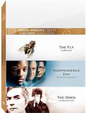 The Fly / Independence Day / The Omen (DVD 3 disc set)  NEW