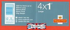 "Rb3 2012 Diamond Jubilee 4 x 1st Class Large "" Lfe "" Security Stamp Booklet"