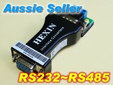9 PIN RS-232 to RS-485 485 to 232 Adapter Interface Converter Data Interface AU