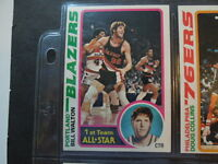 1978-79  1978 TOPPS Basketball  Complete card Set of 132 cards Near Mint Lot