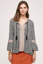 NWT SZ M $88 Anthropologie Riada Tunic By Anama Sweater