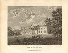 1794 ANTIQUE PRINT-  CHESHIRE-VIEW OF TATTON HALL
