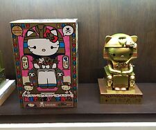 "TOKIDOKI x HELLO KITTY Limited Edition (500 Piece) Kittypatra GOLD 10"" Vinyl NIB"