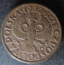 1 Grosz 1932 Vz+ Polen Poland BN