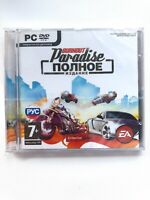 Burnout Paradise: The Ultimate Box PC Russian Cover Jewel Case Brand New Sealed