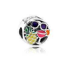 Authentic Pandora 792118ENMX Mixed Enamel Summer Fun Charm Bead