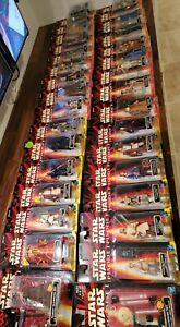 STAR WARS EPISODE 1 (1998) -- HUGE Lot of 30 + Carded Action Figures