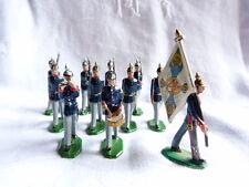 11 soldats de plomb allemands ou autrichiens au défilé - Guerre 1914-1918  Lot 5