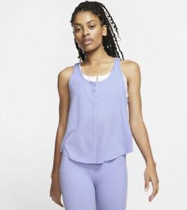 Nike Women's Dri-Fit  YOGA LUXE TANK Sz. S NEW CJ4205-569