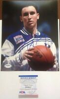 Bobby Hurley PSA Authenticated Hand Signed 8x10 Photo Duke All American