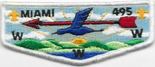 S10 Miami Lodge 495 Order of the Arrow OA Flap Boy Scouts of America BSA