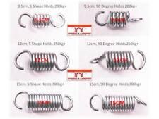 Heavy duty Springs 9.5CM, 12CM 15CM, 90 degree or S shape hook for garden swing