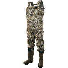 Frogg Toggs Amphib RealTree Max-5 Neoprene Chest Waders Size 10