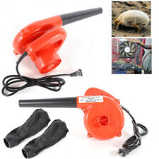 Electric Handheld Blower Air Blower Computer Vacuum Dust Cleaner 110V Red USA