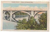 Cappelen Memorial Bridge MINNEAPOLIS MN Vintage Minnesota Postcard