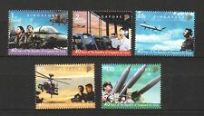 SINGAPORE 2008 40 YEARS OF SINGAPORE AIR FORCE COMP. SET OF 5 STAMPS IN MINT MNH