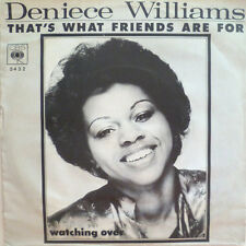 """7"""" 1976 RARE ! DENIECE WILLIAMS : That´s What Friends Are For /MINT-?"""