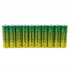 10PCS 1200mAH 14500 3.7V Li-ion Rechargeable BRC Battery For Led Flashlight NEW