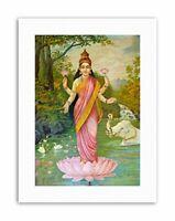 VARMA GODDESS LAKSHMI Poster Picture Painting Canvas art Prints