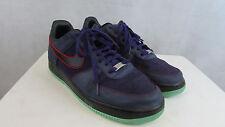 Nike Mens Air Force 1 Purple Sneakers Shoe size 11
