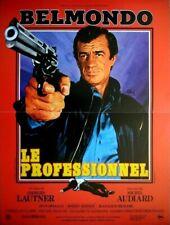 Jean-Paul Belmondo LE PROFESSIONNEL affiche cinema joss beaumont stopper le !