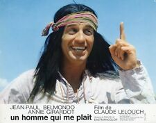 Photo 24x30cm (1969) UN HOMME QUI ME PLAÎT Belmondo, Annie Giradot TBE