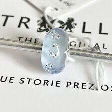 Authentic Trollbeads Siberian Frost Russian Diamond Limited Esizion Rare