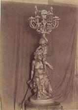 Compiègne Torchère Empire France Vintage Albumine ca 1880