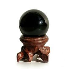"""Mina Heal Obsidian Crystal Ball 30mm / 1.2"""" for Fengshui Scrying Ball, 30 mm"""