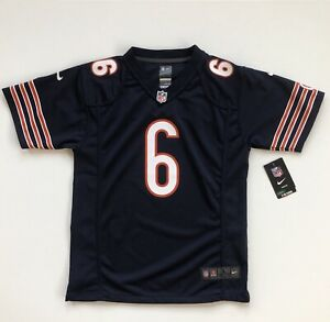 Youth Large Jay Cutler Chicago Bears Navy Nike Game Jersey