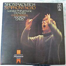 vinyl lp record SHOSTAKOVICH symphony 10 andrew davis CFP 40216