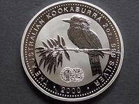 Australia. 2000 2oz - Silver Kookaburra.. Silver 1d Privy.  With Orig Edward 1d