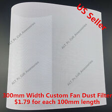 300mm Width Mesh Fan Filter Custom for 60mm 80mm 120mm 140mm 200mm 240mm 280mm w