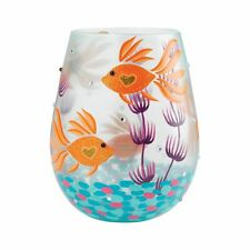 More details for lolita 6009214 turquoise waters stemless glass