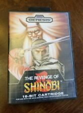 The Revenge of Shinobi (Sega Genesis, 1989) Complete with Case and Manual
