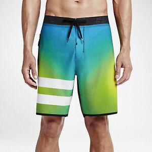 Hurley Phantom Julian Elite Men's Boardshorts Photo Blue Size 32 33 34 36 38 NWT