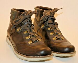 Timberland Earthkeeper Mosley Hiker Boots Brown Leather Lace Up Womens Size US 8