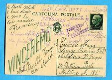 c.15 VINCEREMO (C97) USATA IN LUOGOTENENZA SENZA AFFRANCATURA AGGIUNTA  (258338)