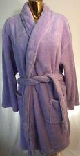 New Martha Stewart Beautiful Purple  Polyester Bathrobe Women One Size Fits Most