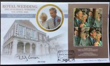 Benham 8.4.2005 ROYAL WEDDING FDC Guildhall, Windsor Signed JILLY COOPER, Author
