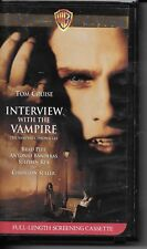 Interview with the Vampire (VHS) Special Edition Clamshell Screener!