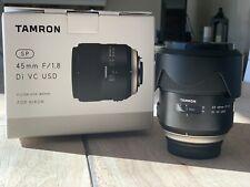 tamron sp 45mm f/1.8 Di VC USD for Nikon
