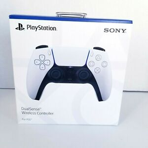 PS5 Wireless Controller Dual Sense Sony PlayStation White New Sealed Box