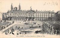 CPA  54 - NANCY - Place Stanislas et Hotel de ville