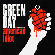 GREEN DAY AMERICAN IDIOT DOUBLE LP VINYL NEW LIMITED EDITION COLOURED